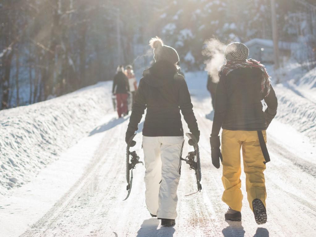 Weihnachtsgeschenkideen und Schneeschuhwandern in der Rhön